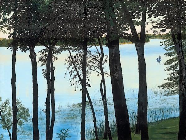 Lake Wabedo #1 Art | Brendan Kramp Studio & Workshop