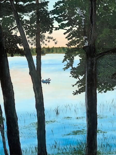 Lake Wabedo #2 Art | Brendan Kramp Studio & Workshop