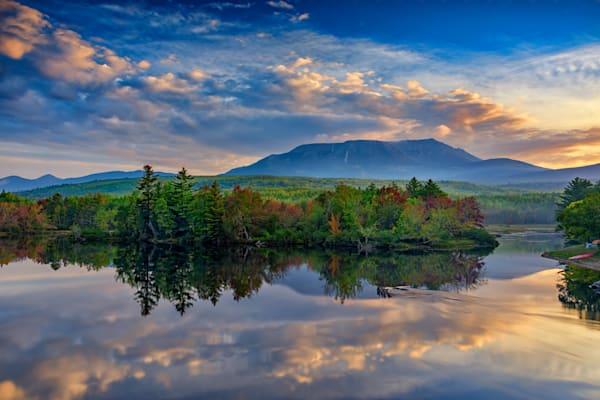 Katahdin Sunrise by Rick Berk