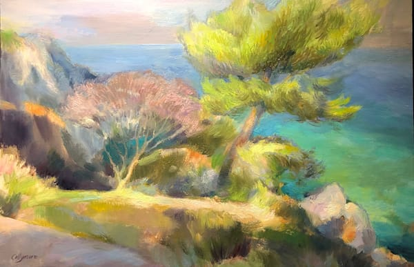 Impressions of a French Riviera Seaside Walk