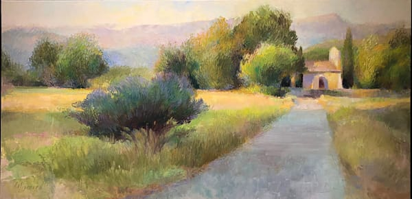 Morning Walk in Provence