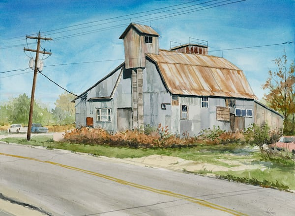 """Feed Mill"" fine art print by Matt Kapinos."