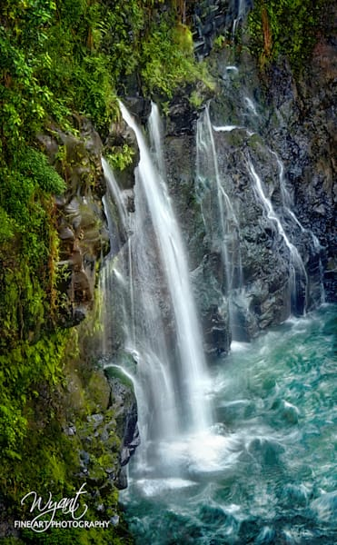 Hawaii Waterfall: Shop Fine Art Photography | Jim Wyant, Master Craftsman (317)663-4798