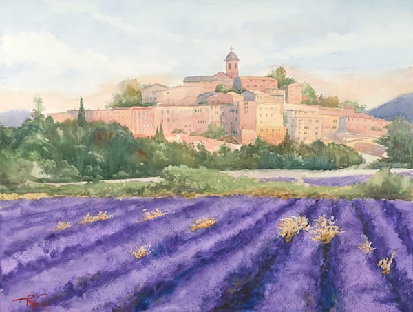 """Lavender Fields"" fine art print by Matt Kapinos."