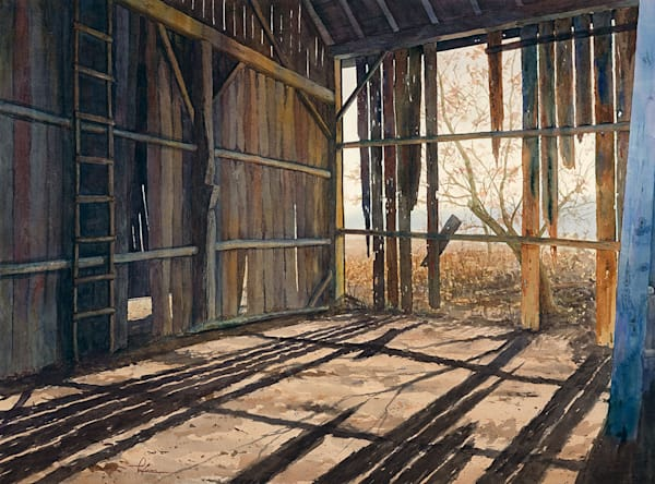"""Portrait of a Barn"" fine art print by Matt Kapinos."