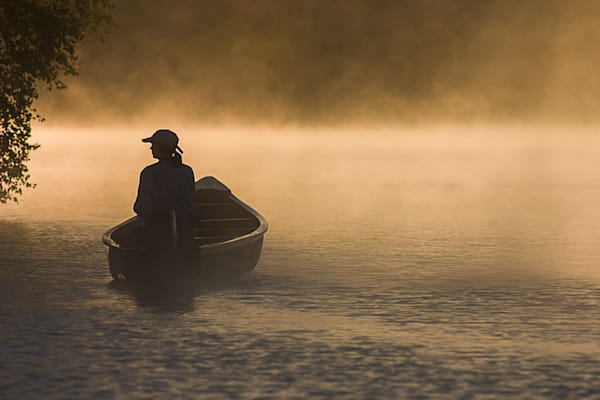 Misty Morning on Memphremagog