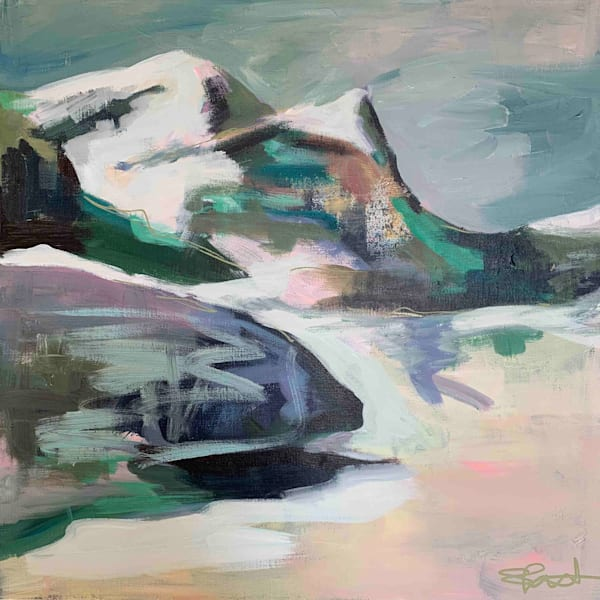 Mountain Art by Steph Fonteyn