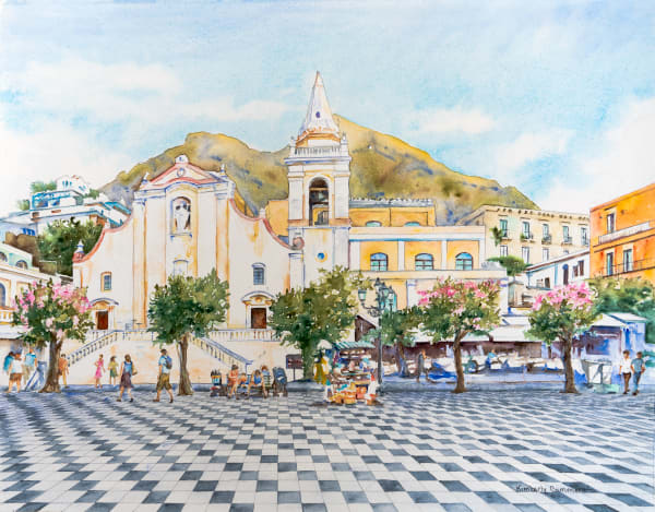 Paintings of Sicily for Sale | Kimberly Cammerata