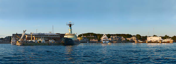 Woods Hole Panorama Photograph (2011)