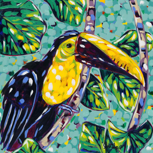 Costa Rica Toucan is a print of an original work by Jodi Augustine.