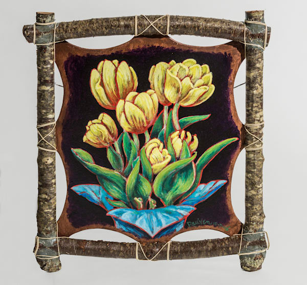 Yellow Tulips Art | East End Arts