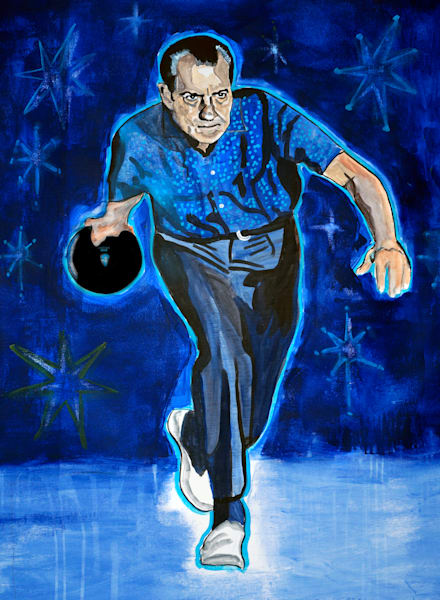 Tricky Dick Abides Art | William K. Stidham - heART Art