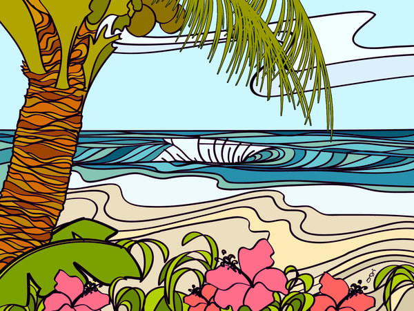 Surf Art | Secret Spot by Odi