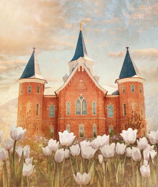 Provo City Center Temple Purity Art | Mandy Jane Williams Art