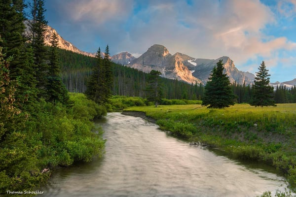 Montana and Glacier National Park Fine Art nature and scenic landscape prints/Shop for artwork in Thom Schoeller's online gallery