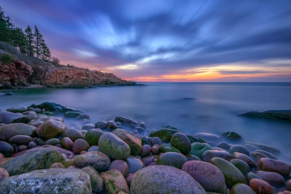 Blue Hour in Monument Cove by Rick Berk
