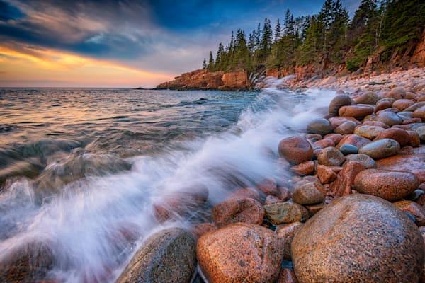 Spring Morning in Monument Cove by Rick Berk