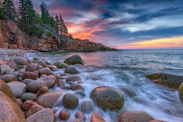 Spring Sunrise in Acadia National Park by Rick Berk