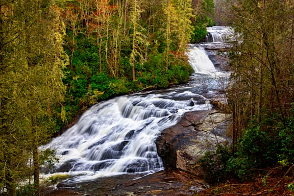 Triple Falls overlook photography