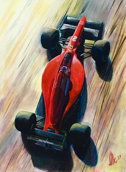 Nigel Mansell - F190 Original