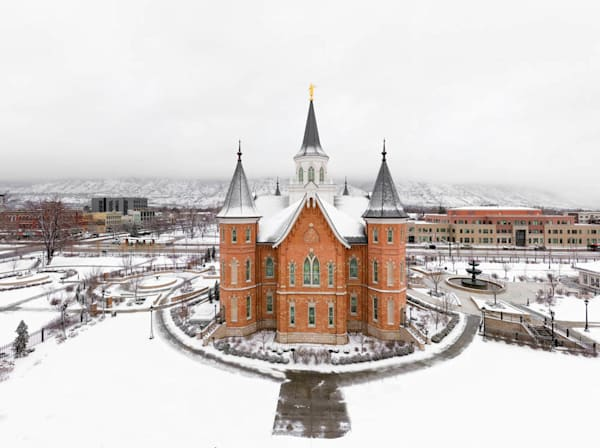 Provo City Center Temple - City From Above