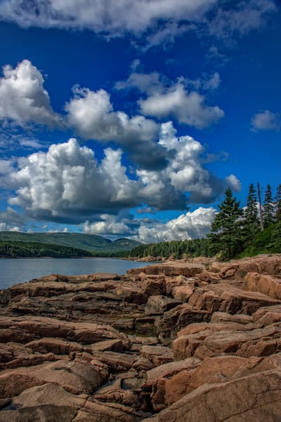 Summer Day at Otter Point by Rick Berk