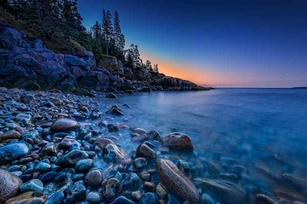 Twilight on Little Hunters Beach by Rick Berk