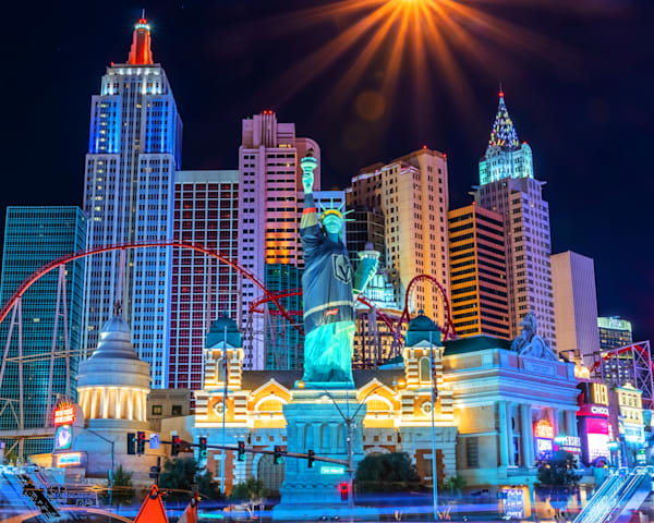 New York New York Las Vegas - Las Vegas Artwork | William Drew Photography