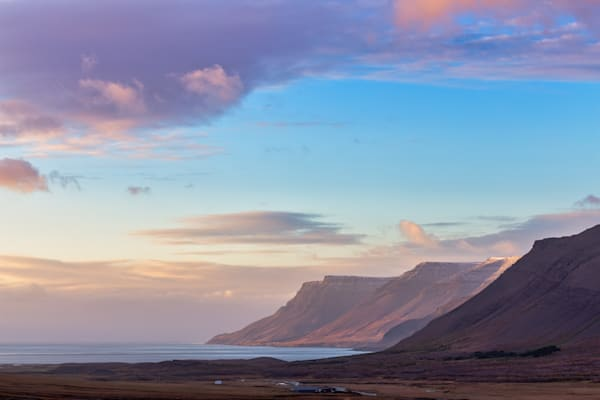 Pastel Westfjords Photography Art | Will Nourse Photography