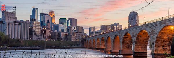Cotton Candy City - Minneapolis Wall Murals | William Drew Photography