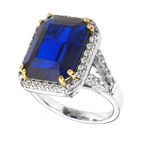 Blue Sapphire 8 Carat by Bling by Wilkening