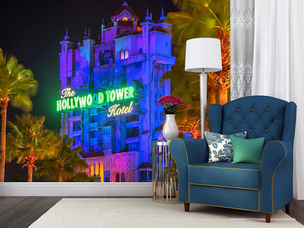 Tower of Terror at Hollywood Studios - Disney Wall Murals | William Drew