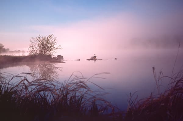 Chippewa River at Dawn photograph for sale as Fine Art.