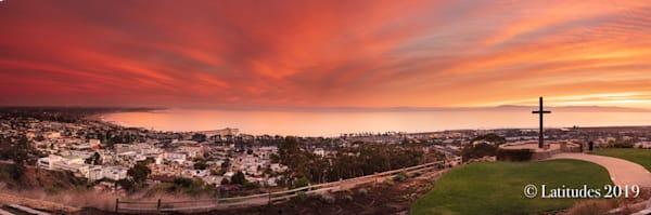"""Spectacular Sunset Sky"" at Serra Cross"