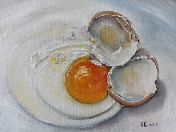 Cracked Egg Art | Kristine Kainer