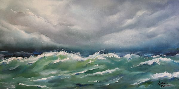 Tempest Waves Art | Kristine Kainer