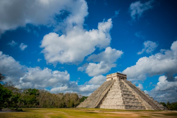 Chichen Itza morning
