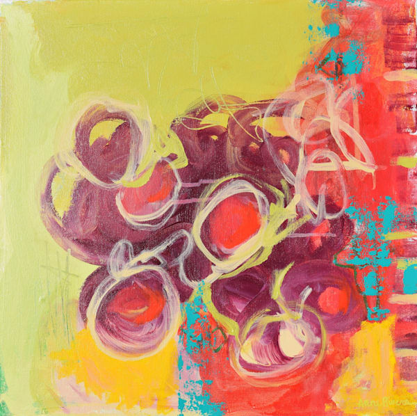 Bountiful Abstract Color Art for sale | Anne Rivers