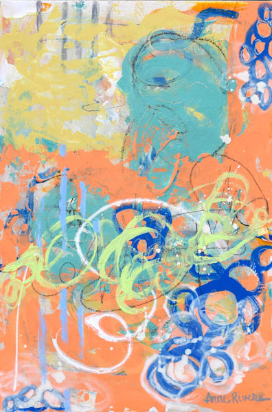 Fun Abstract Color Art for sale | Anne Rivers