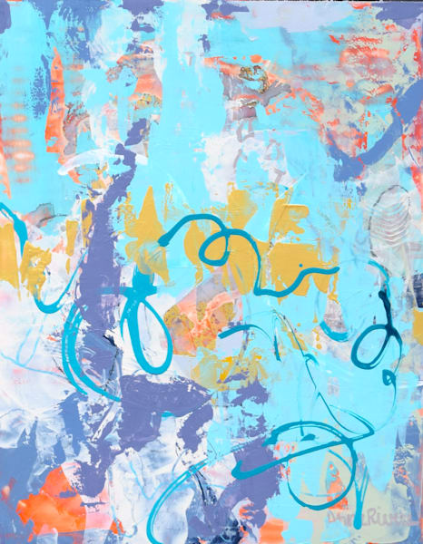 Ethereal Abstract Color Art for sale   Anne Rivers