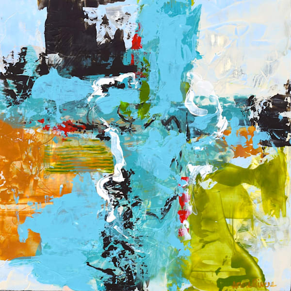 Gorgeous Abstract Color Art for sale | Anne Rivers