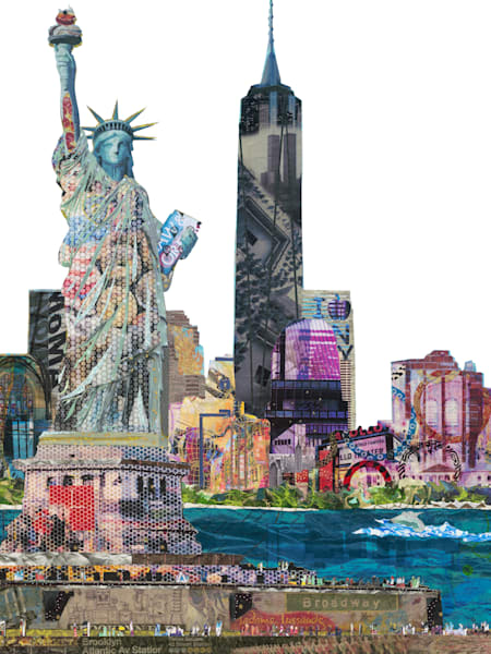 Statue Of Liberty New York Art | Made by Kristi