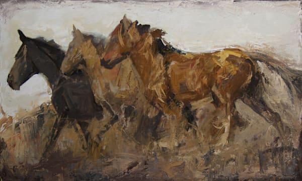 Horses Loves Freedom30x50