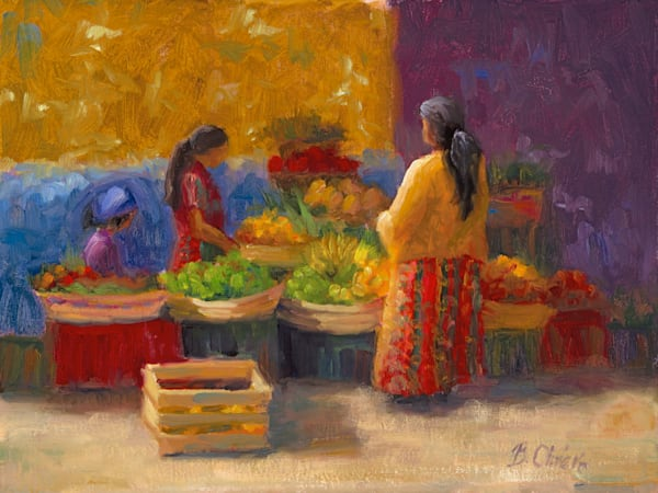Market Day Art | B. Oliver, Art