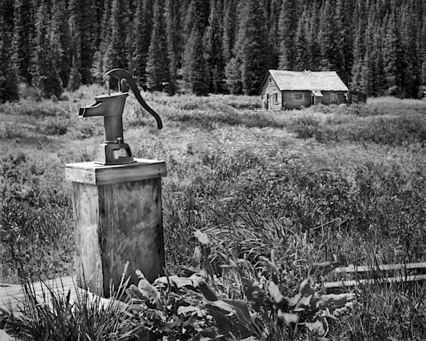 Americana photograph: No Place Like Home, Crested Butte, Colorado by fine art photographer,  David Zlotky.