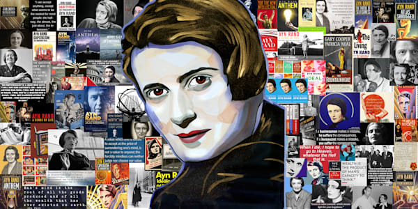 Ayn Rand Pop Art | William K. Stidham - heART Art