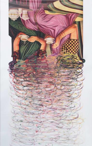 Maya Varadaraj   3 Unframed 1 Art | Wet Paint NYC
