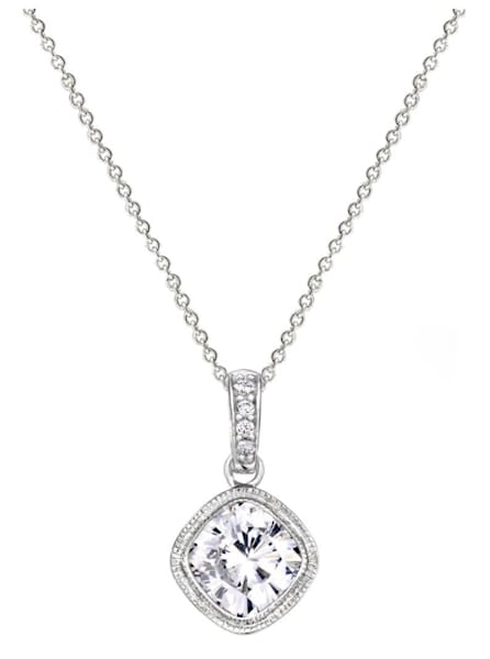 Sterling Silver 2 Carat NoHo Necklace Bling by Wilkening