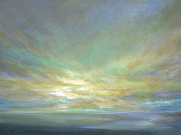 Coastal Clouds XVI by Sheila Finch