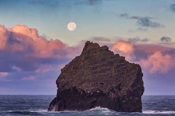 Moonset At Sunrise Photography Art | Will Nourse Photography